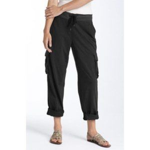 Standard James Perse Knit Cropped Cargo Pants
